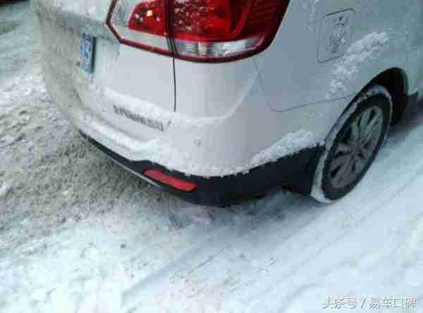 极寒天气如何化开冻在车身的冰霜?宝骏730车主口碑 - 9